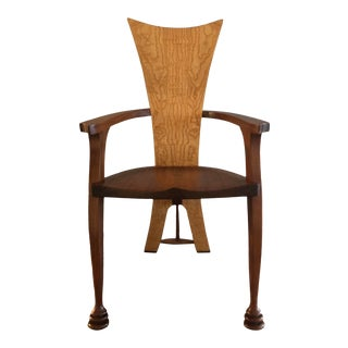 Designer Paulus Contemporary Maple and Ash Chair For Sale
