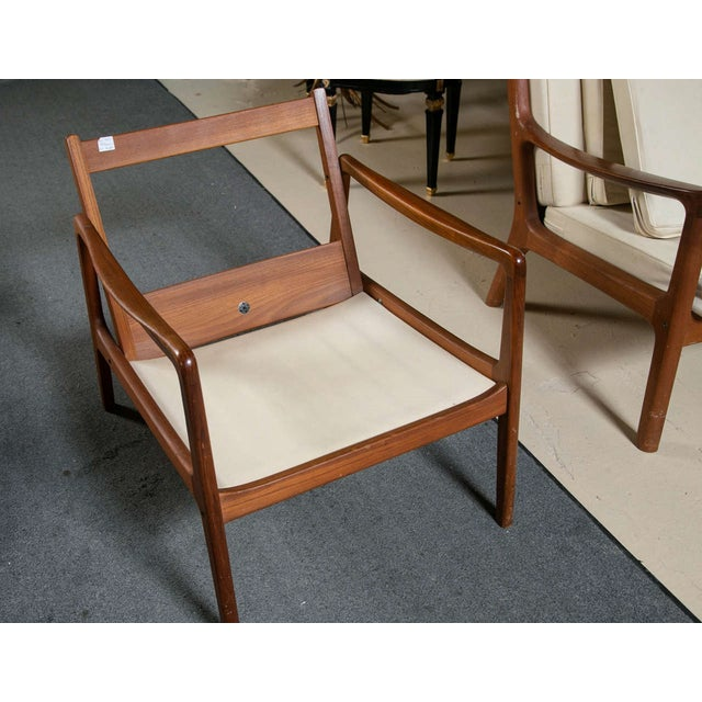 Ole Wanscher Mid-Century Teak Lounge Chair For Sale - Image 9 of 9
