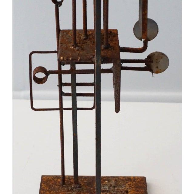 Frank Cota Brutalist Sculpture - Image 6 of 7