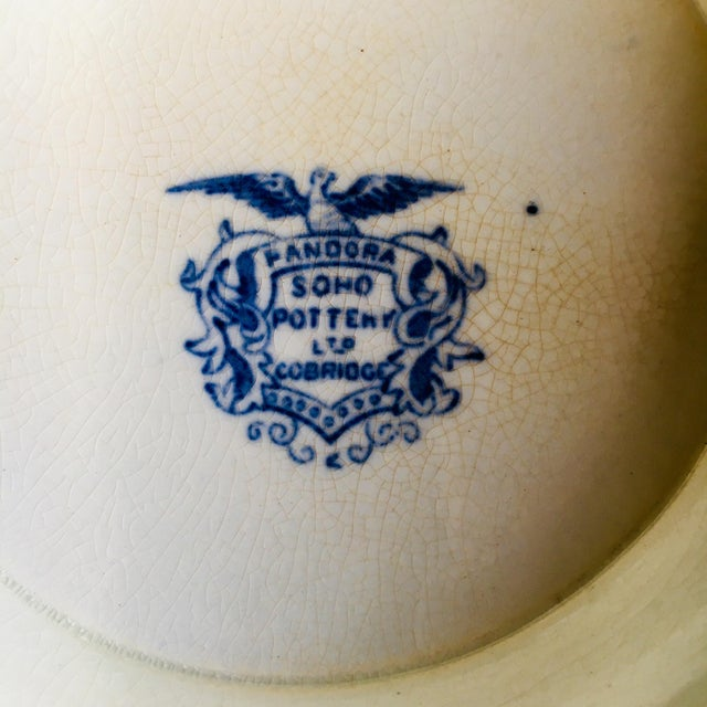 """Soho Pottery """"Pandora"""" Pattern Soup Tureen C.1906 For Sale In Baltimore - Image 6 of 9"""
