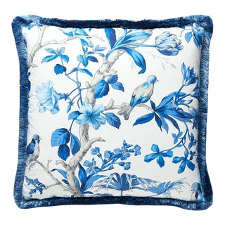Belize Pillow in Blue For Sale