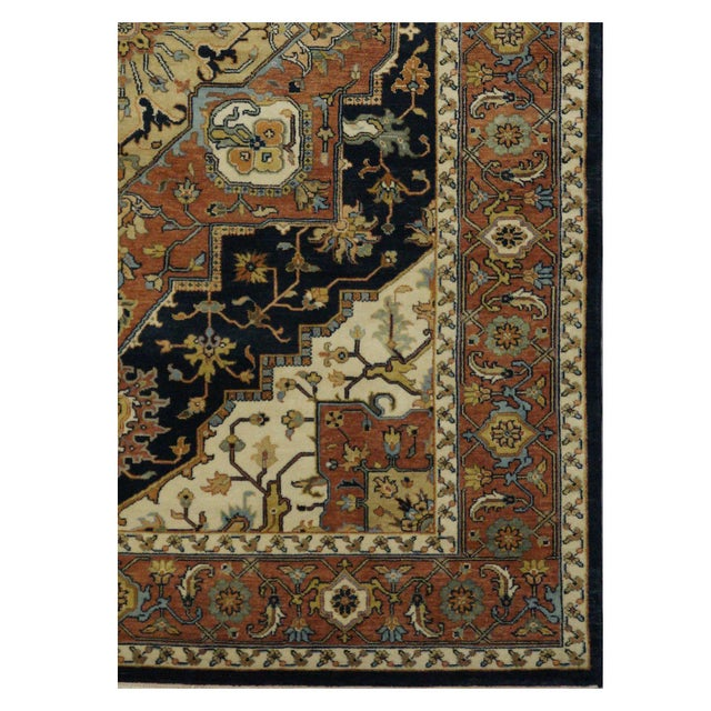 "New Indian Tabriz Design Rug - 6' x 8'7"" - Image 3 of 3"