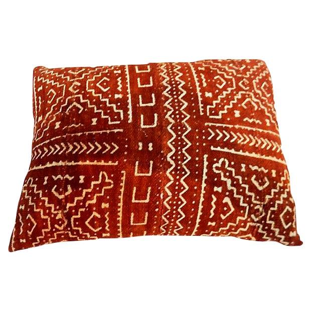 Malian Mud Cloth Pillow - Image 1 of 6