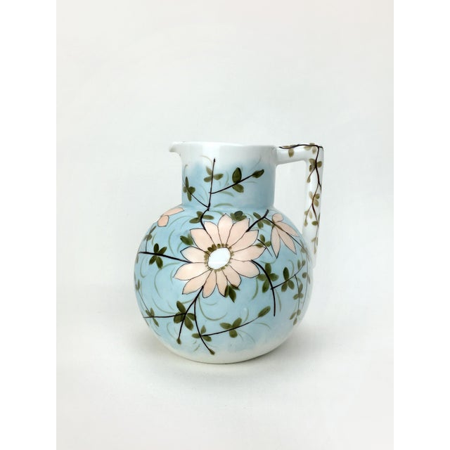 RS Prussia Pastel Floral Vintage Pitcher For Sale In New York - Image 6 of 6