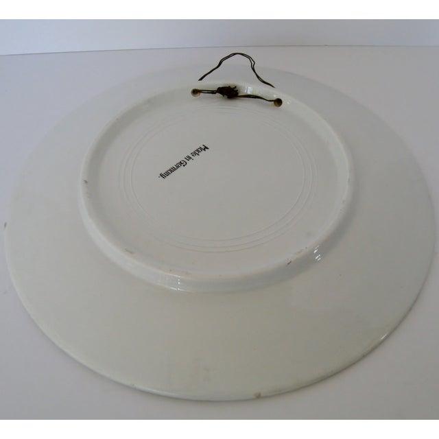 German Ceramic Wall Plate - Image 4 of 4