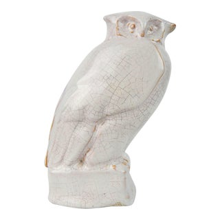 Owl Figure Art Pottery For Sale