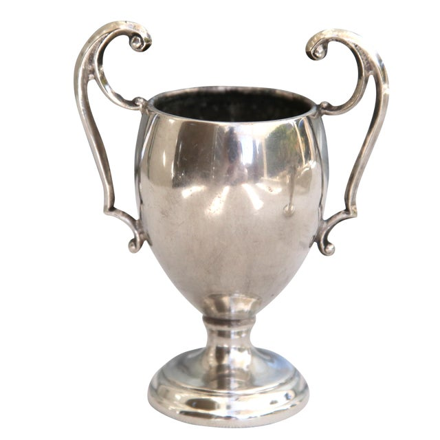 Petite Silverplate Loving Cup - Image 1 of 3