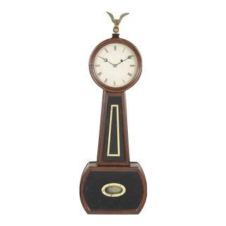 19th Century Massachusetts Banjo Clock For Sale