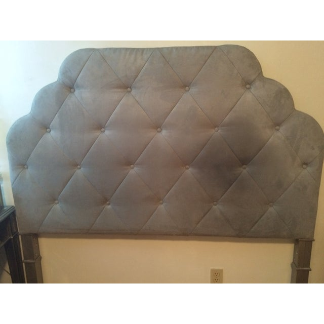 Seafoam Tufted Arch Queen Headboard - Image 2 of 4