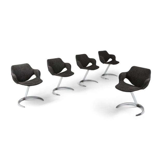 Boris Tabaccof Dining Chairs For Sale - Image 10 of 10