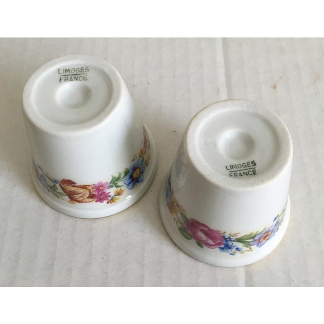Petite French Limoges Pots - A Pair - Image 4 of 4