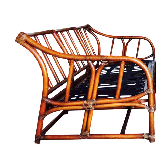 Ficks Reed Bamboo Sofa - Image 1 of 6