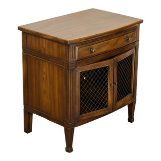 John Widdicomb Nightstand, Mid Century Nightstand, Walnut Nightstand For Sale