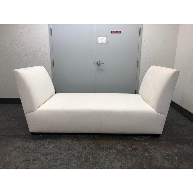 White Custom Hilde Brand Bond Street Day Bed For Sale - Image 8 of 8