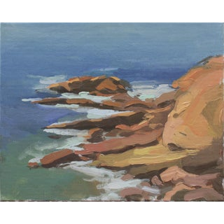 California Landscape Painting Giclee Art Print by Michelle Farro For Sale