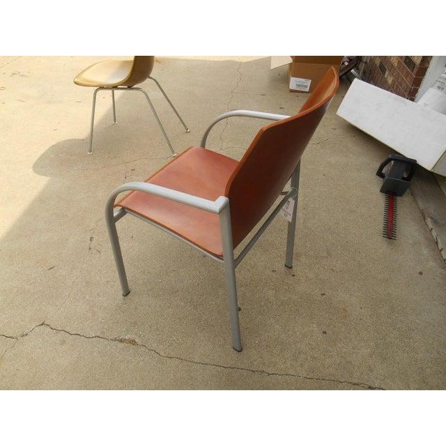 Harter Kion Midcentury Danish Molded Plywood Chair - Image 4 of 6
