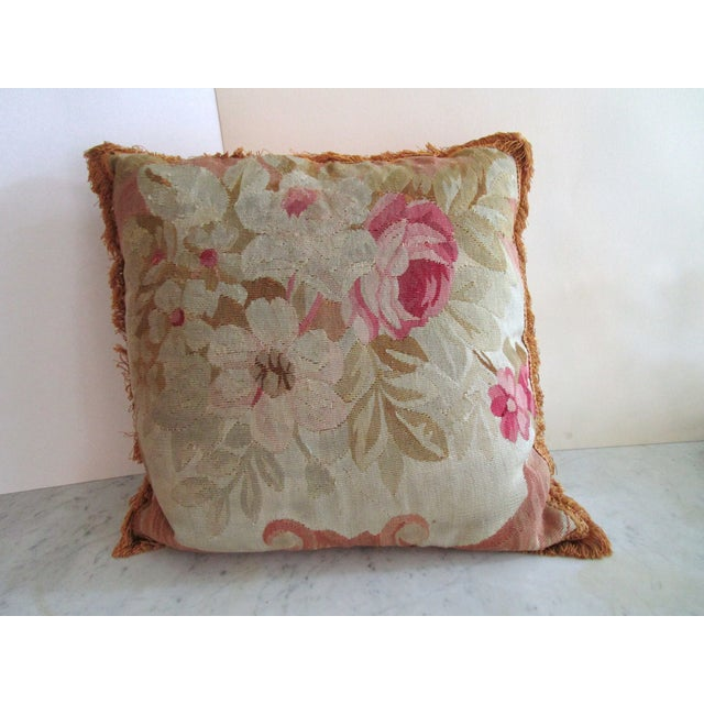 Aubusson Pillows - Pair - Image 4 of 6