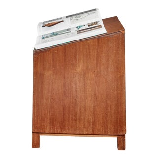 Pierre Jeanneret Teak Lectern From Chandigarh, 1950s For Sale