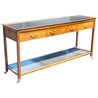 Directoire Style Marbletop Console Table