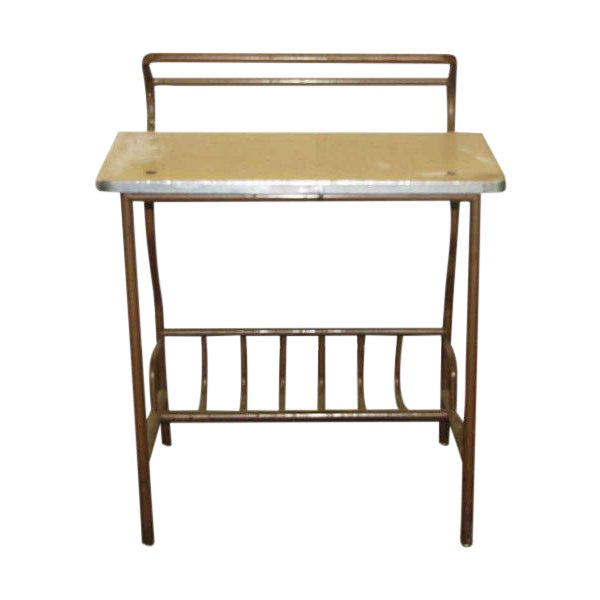 Antique Desk With Storage - Image 1 of 4