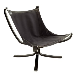 Sigurd Ressell Lowback Falcon Lounge Chair For Sale