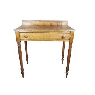 19th Century Antique Sheraton Rustic Farmhouse Table For Sale