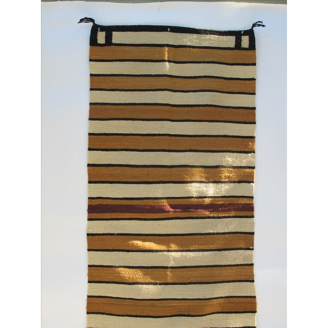 Striped Navajo Rug - 2′6″ × 5′6″ - Image 7 of 10