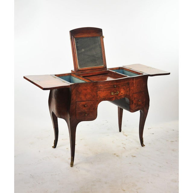 Mid 18th Century 18th Century Louis XVI Marquetry Inlaid Vanity Stand For Sale - Image 5 of 11