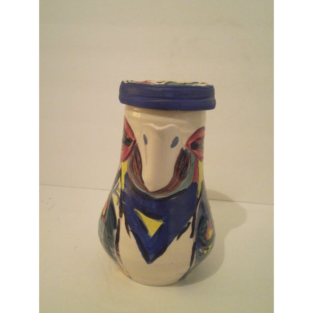 Art Pottery Covered Carafe - Image 4 of 7