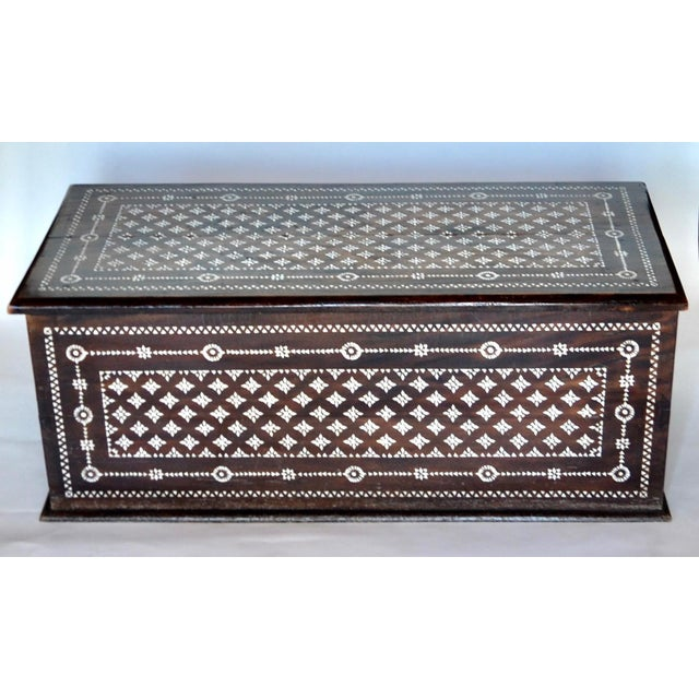 Turkish Mother of Pearl Inlaid Chest - Image 2 of 9