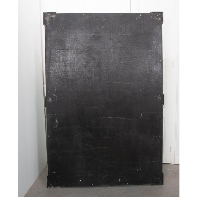 French 19th Century Second Empire Ebonized Console and Mirror For Sale - Image 12 of 13