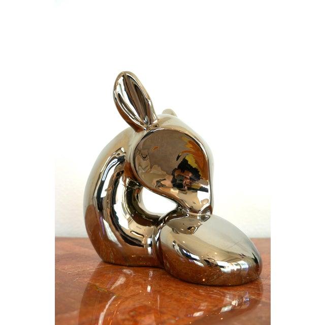 Vintage Jaru Silver Deer Statue - Image 8 of 8