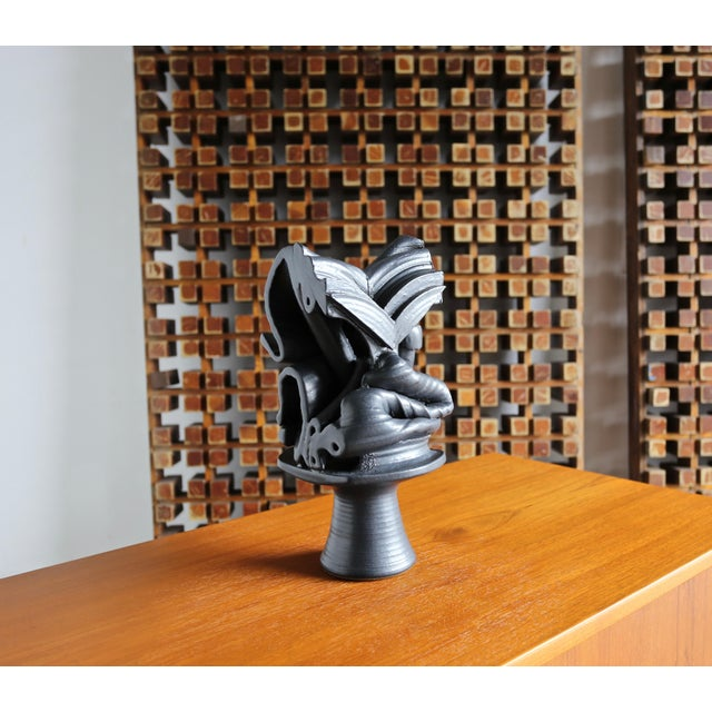 2010s Tim Keenan Abstract Ceramic Sculpture For Sale - Image 5 of 12