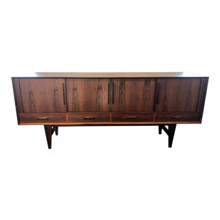 20th Century Danish Modern Rosewood Credenza For Sale