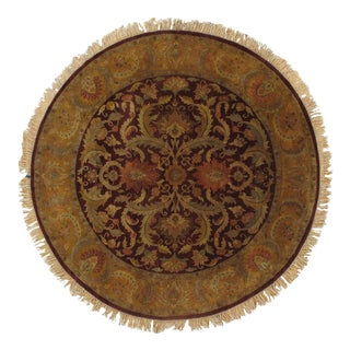 Pasargad N Y Fine Agra Hand-Knotted Rug - 8'x 8'