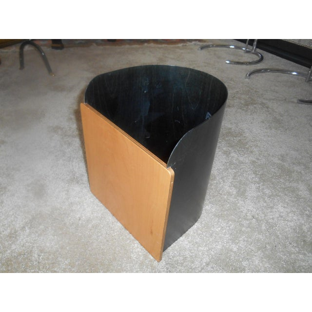 Mid-Century Modern Mid-Century Modern Designer Giorgio Pizzitutti Milano Waste Basket For Sale - Image 3 of 6