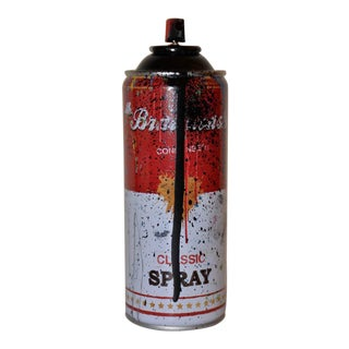 """Mr. Brainwash """"Classic Spray"""" Black Edition Signed / Thumbprint & Numbered C.2013 For Sale"""