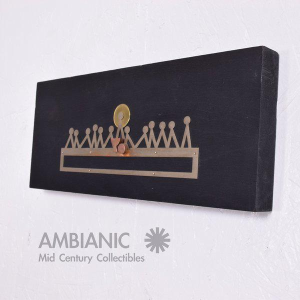 Emaus Last Supper Wall Sculpture For Sale - Image 4 of 7
