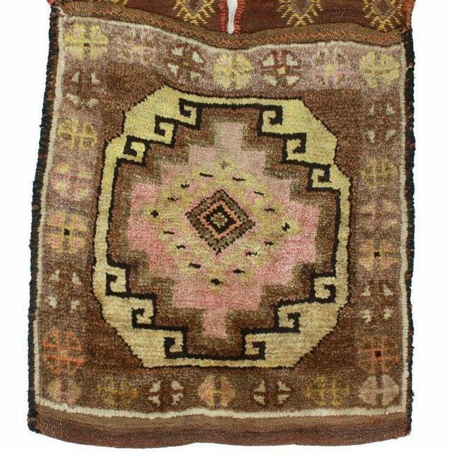Vintage Turkish Carpet Saddlebag - 1'6'' X 3'9'' - Image 3 of 3