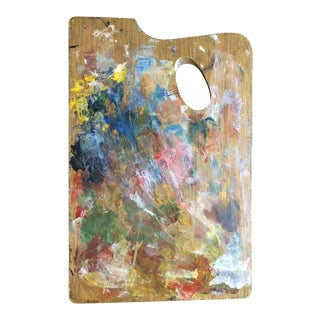 French Vintage Painter's Palette For Sale