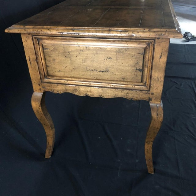 Country French Provincial Desk by Guy Chaddock For Sale - Image 10 of 13