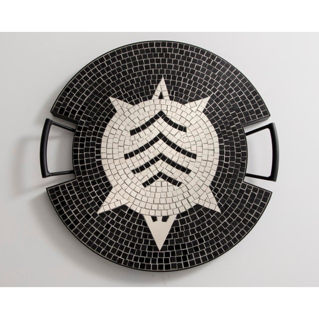 """The Turtle"" tray in hand-set mosaic, from the ""Strange Animals Collection."" Designed and made by Ugo La Pietra,..."