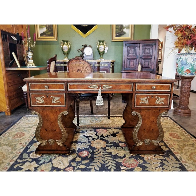 Presenting an absolutely gorgeous 20th century Replica of 'The Tsar Desk' from the Gianni Versace Collection by Theodore...