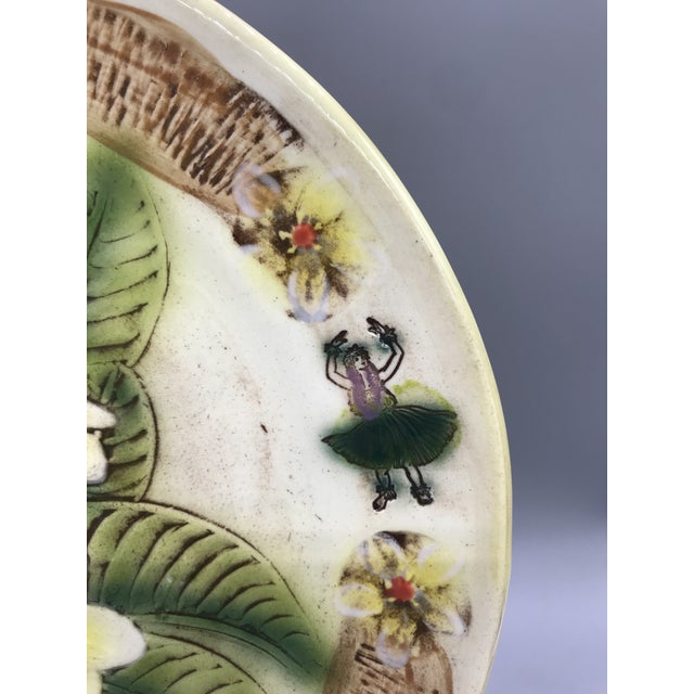 1960s Vintage Kani of Hawaii Pottery Pie Plate For Sale - Image 5 of 11