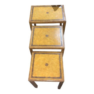 Maitland Smith Nesting Tables - Set of 3 For Sale