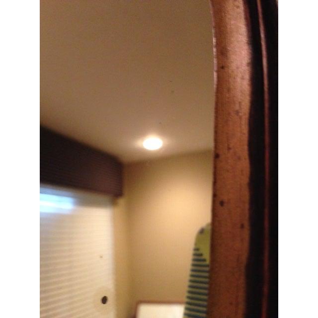 Antique Hand-Carved Wood Framed Mirror - Image 9 of 11