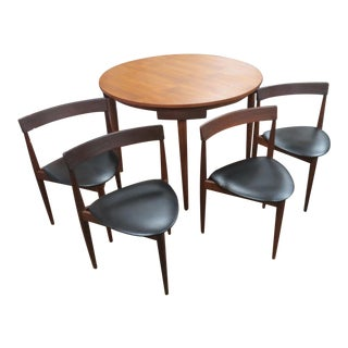 Frem Rojle Hans Olsen Mid-Century Roundelle Teak Dining Set