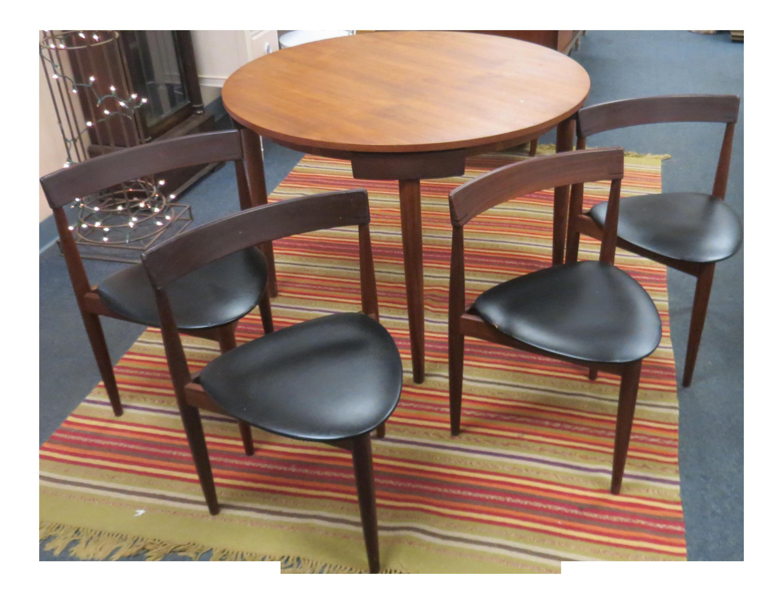 Frem Rojle Hans Olsen Mid Century Roundelle Teak Dining Set