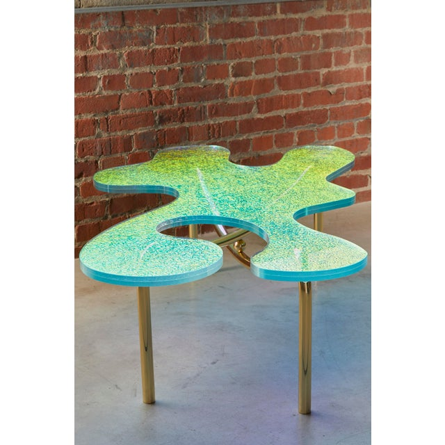 Metal Picasso Coffee Table by Artist Troy Smith - Contemporary Design - Artist Proof - Limited Edition For Sale - Image 7 of 7