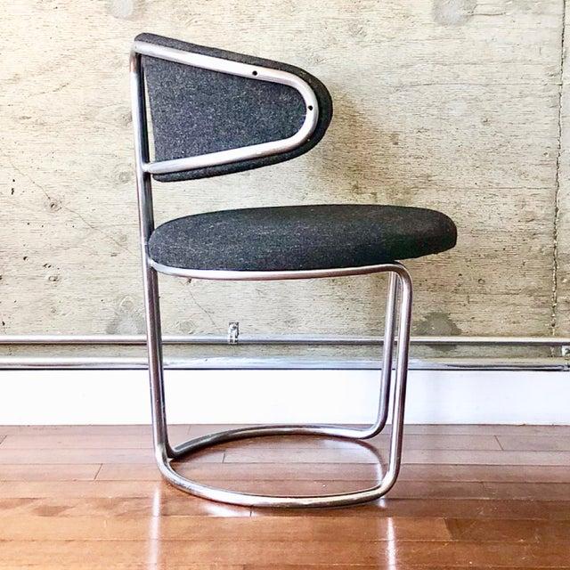 Bauhaus Vintage Barrel Back Modernist Chair For Sale - Image 3 of 9